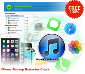 iPhone Backup Extractor Crack