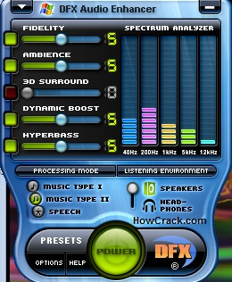 DFX Audio Enhancer Cracked Key