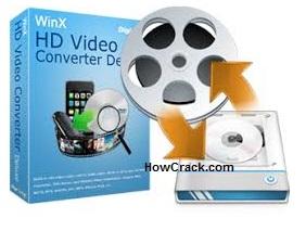 WinX HD Video Converter Deluxe License Code Cracked