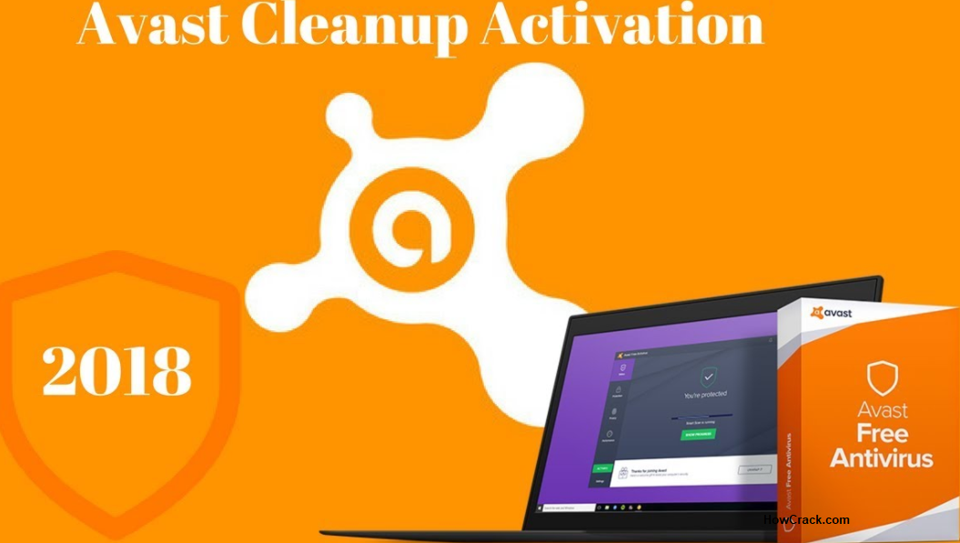Avast Cleanup 2018 Activation Code License Key Howcrack.com