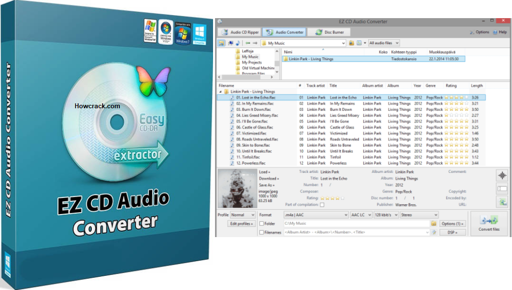 EZ CD Audio Converter Crack Full Keys
